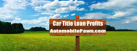 Car Title Loan Profits